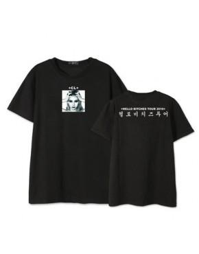 Camiseta 2ne1 CL Hello Bitches