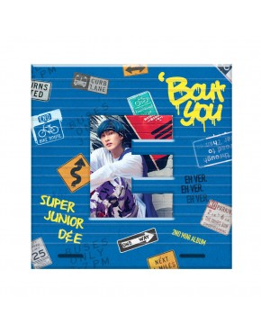 Super Junior D&E - Mini Album Vol.2 [Bout You] (Eunhyuk Version)