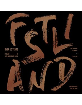 FTISLAND - FTISLAND 10TH ANNIVERSARY ALBUM [OVER 10 YEARS]