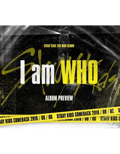Stray Kids - Mini Album Vol.2 [I am WHO] CD