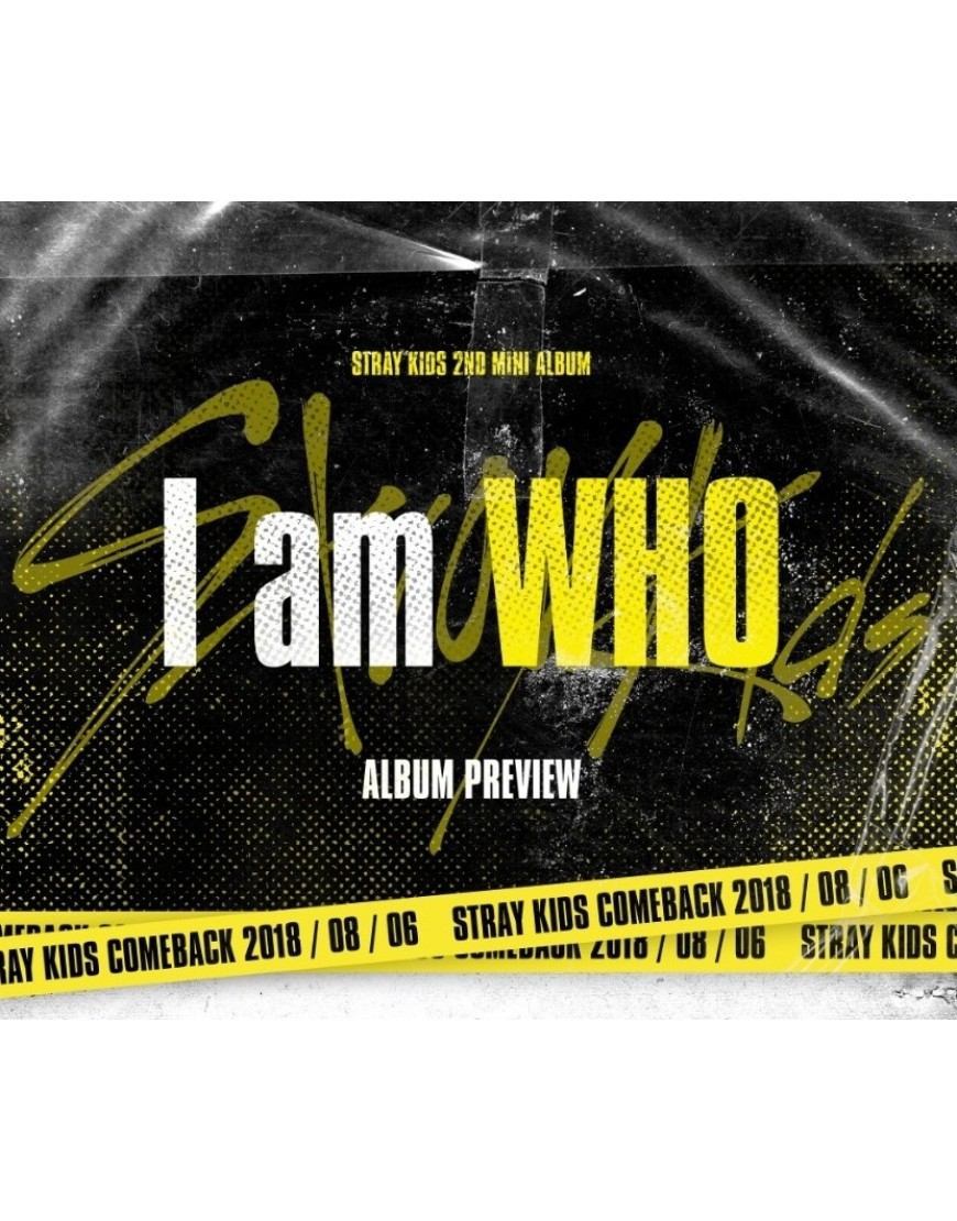 Stray Kids - Mini Album Vol.2 [I am WHO] CD popup