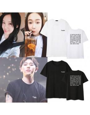 Camiseta BlockB e T-ara