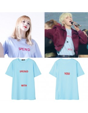 Camiseta Blackpink Lisa e Winner Seungyoon