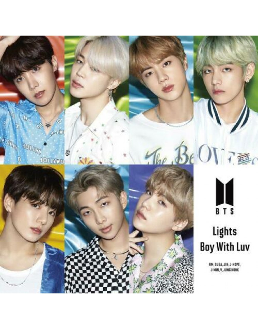 BTS- Lights/Boy With Luv [FC Limited Edition ] CD popup