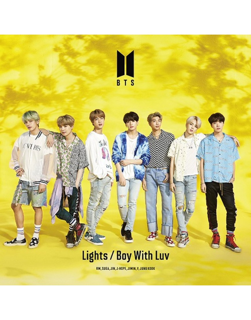 BTS- Lights/Boy With Luv [Limited Edition Type A] CD popup