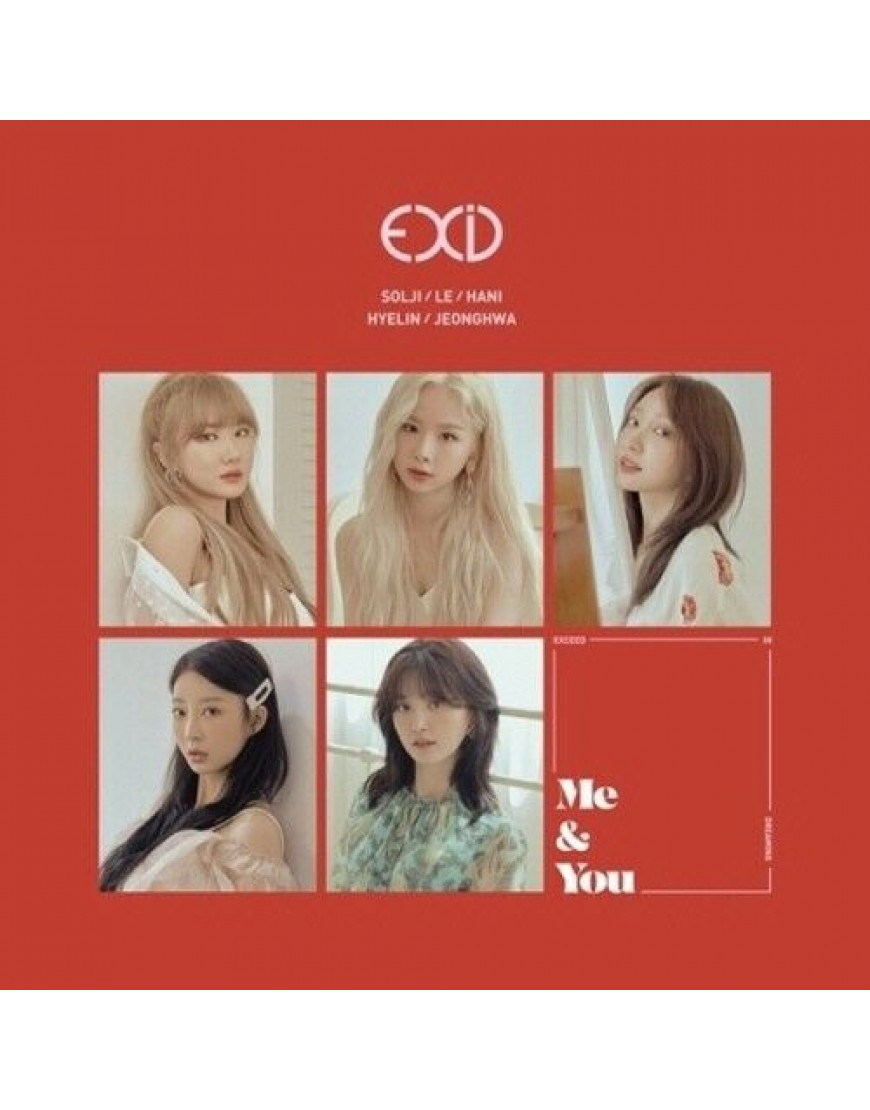 EXID- WE CD popup