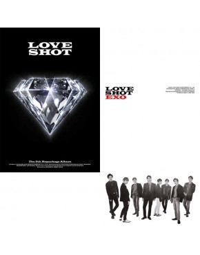 COMBO EXO - LOVE SHOT (Love ver + Shot ver SET) 2CDs