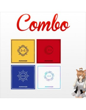 Combo Mamamoo [Yellow Flower + RED MOON + BLUE;S + White Wind] CD