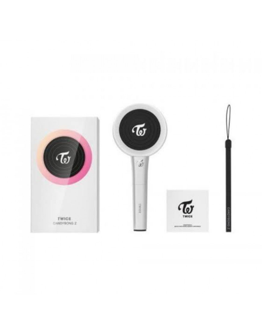 TWICE - OFFICIAL LIGHT STICK CANDY BONG Z  popup