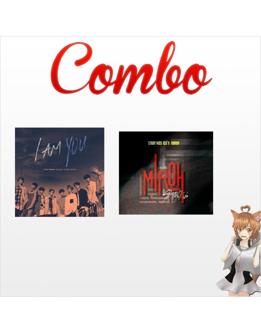 Combo STRAY KIDS [Miroh + I'm You] CD popup