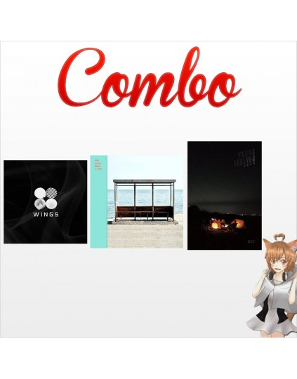 Combo BTS [Wings + Young Forever + You Never Walk Alone] CD