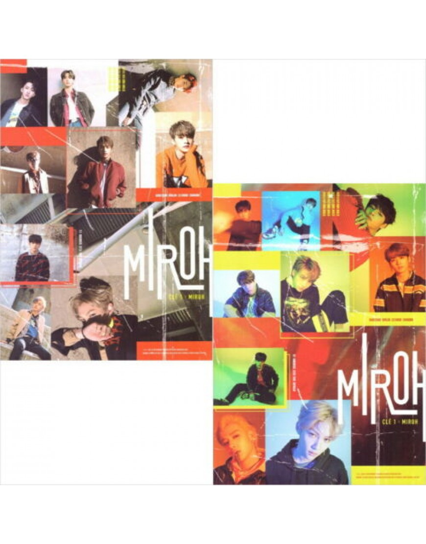 Combo STRAY KIDS - Clé 1 : MIROH 2 ver SET [Normal version] CD popup