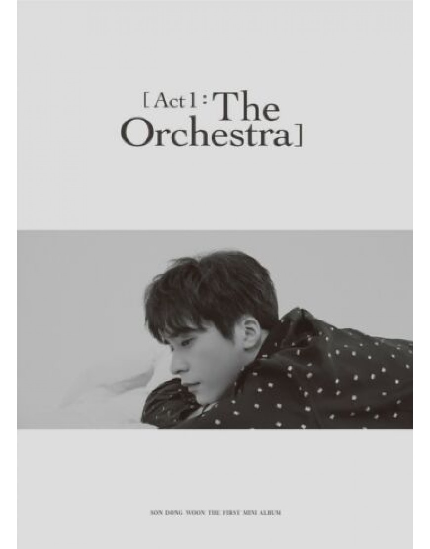 Son Dong Woon ( Hightlight) - Act 1 : The Orchestra CD popup