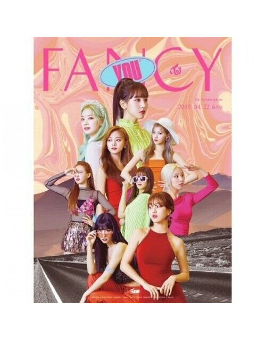 COMBO TWICE - FANCY YOU CD ( 3 CDS) popup