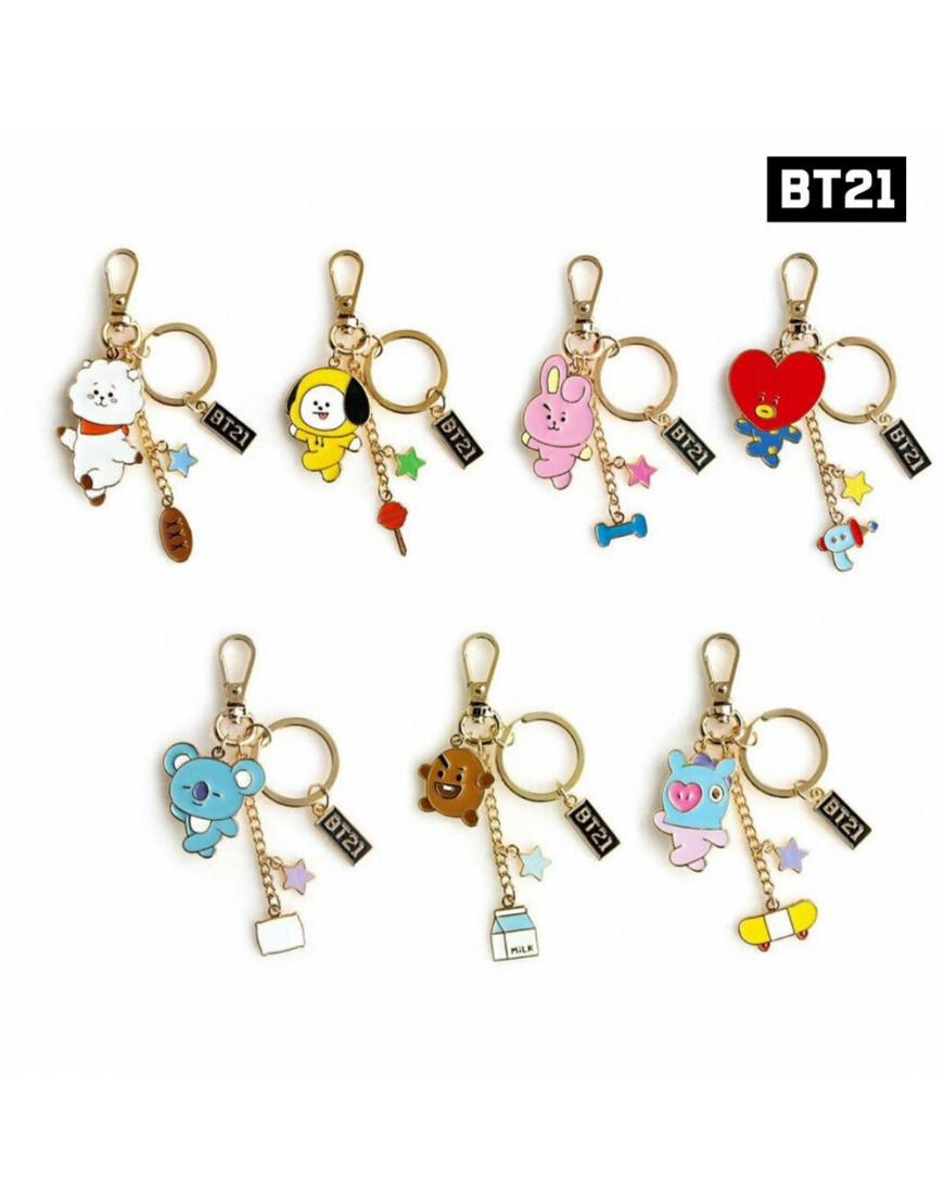 Chaveiro BTS BT21 By Monopoly Oficial popup