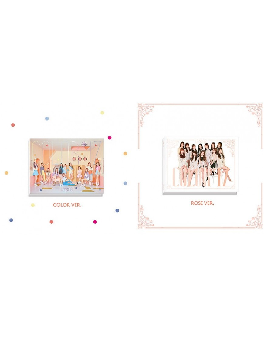 IZ*ONE - Mini Album Vol.1 [COLOR*IZ]  popup
