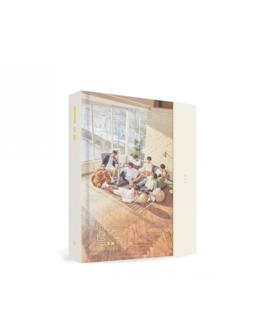 BTS - 2018 BTS EXHIBITION BOOK [오,늘] Photobook popup