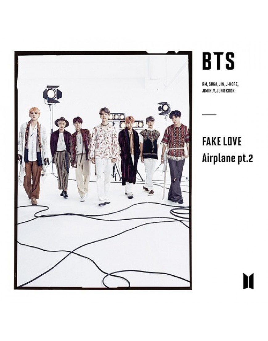 BTS- FAKE LOVE / Airplane pt.2 [ Limited Edition / Type C] popup