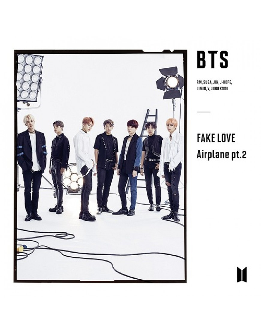 BTS- FAKE LOVE / Airplane pt.2 [ Limited Edition / Type B] popup
