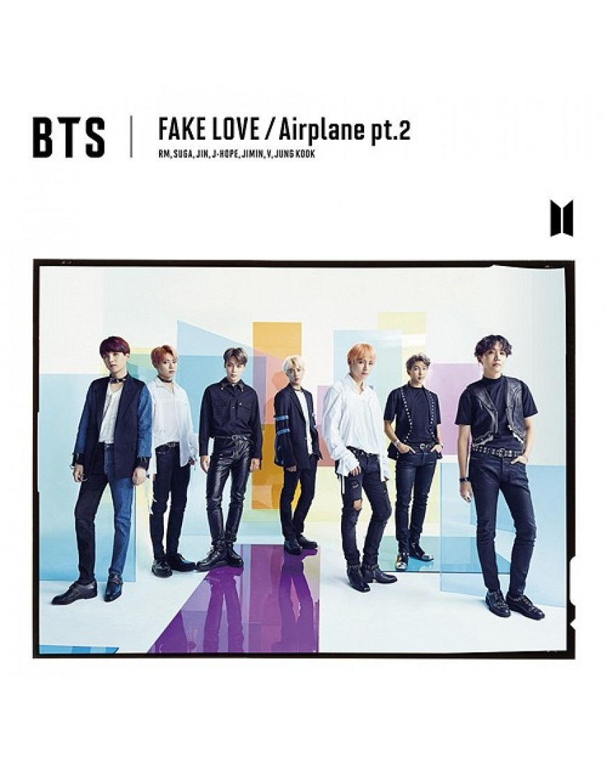 BTS- FAKE LOVE / Airplane pt.2 [ Limited Edition / Type A] popup