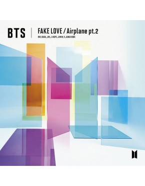 BTS- FAKE LOVE / Airplane pt.2 [Regular Edition]