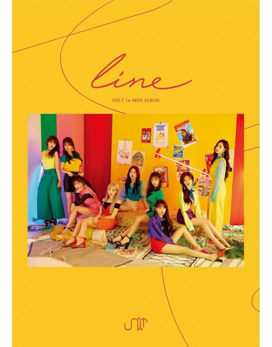 UNI.T - Mini Album Vol.1 [line] CD popup