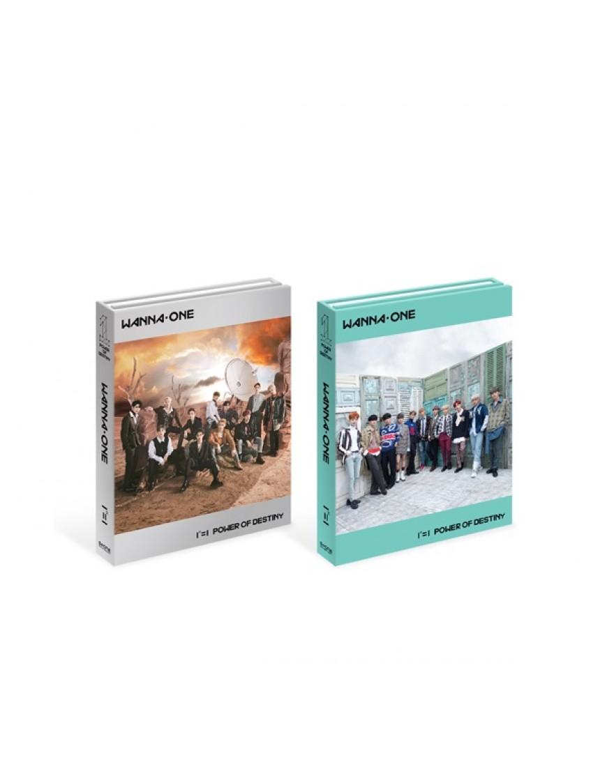 WANNA ONE - Album Vol.1 [1¹¹=1 (POWER OF DESTINY)] CD popup