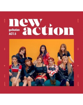 Gugudan - Mini Album Vol.3 [Act.5 New Action] CD