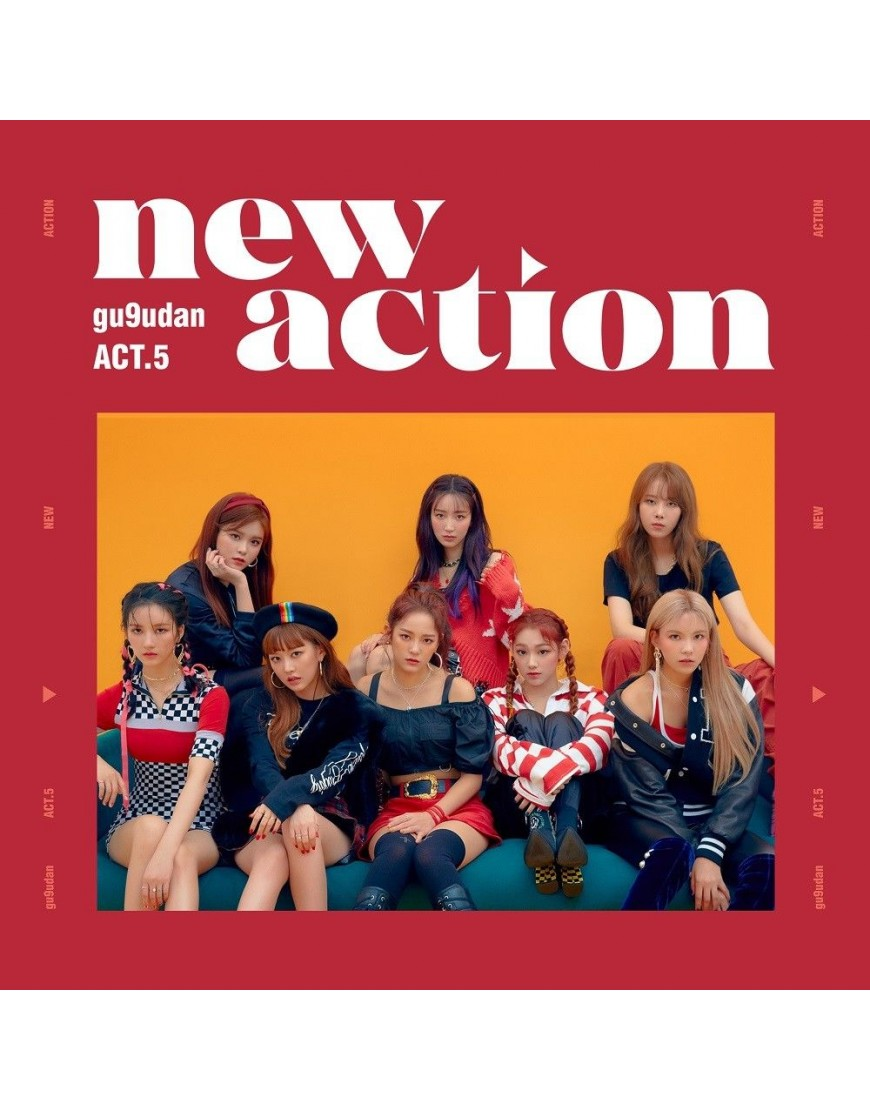 Gugudan - Mini Album Vol.3 [Act.5 New Action] CD popup