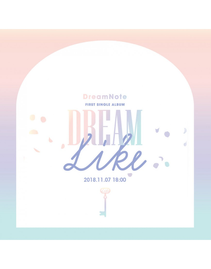 DreamNote - Single Album Vol.1 [Dreamlike] CD popup