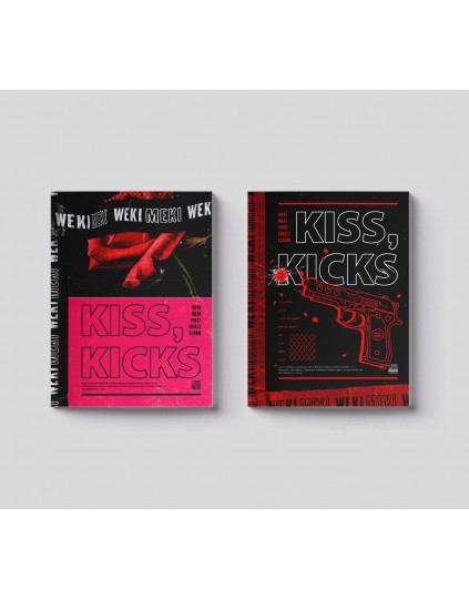 Weki Meki - Single Album Vol.1 [KISS, KICKS] CD
