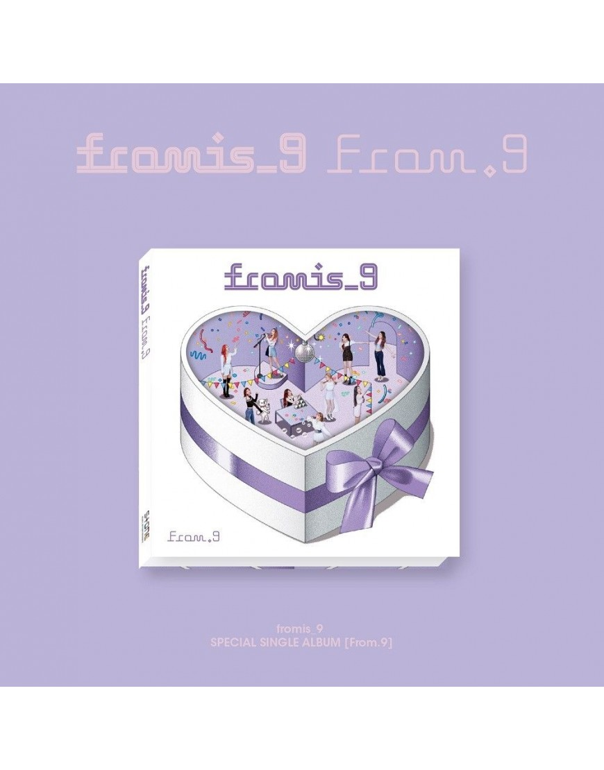 fromis_9 - Special Single Album [From.9] CD popup