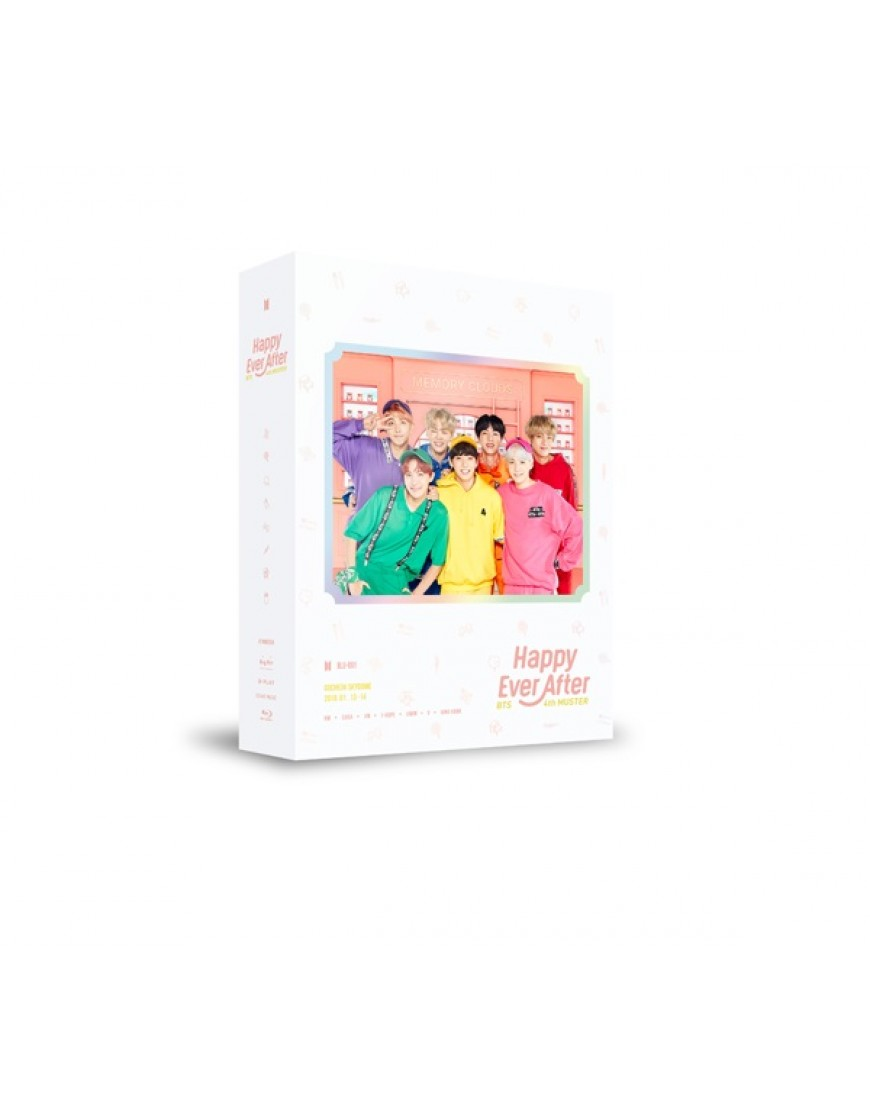BTS - BTS 4th MUSTER [Happy Ever After] Blu-Ray popup