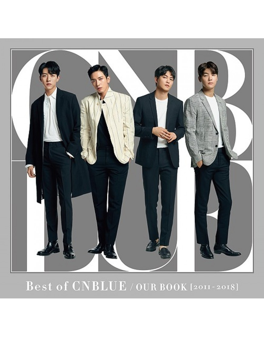 CNBLUE- Best of CNBLUE / OUR BOOK [2011-2018] [ Limited Edition] popup
