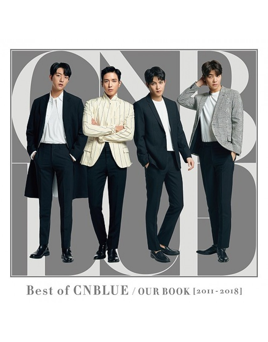 CNBLUE- Best of CNBLUE / OUR BOOK [2011-2018] [Regular Edition] popup