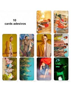 SHINEE Card Adesivo