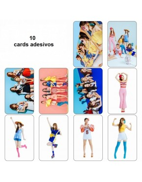 Red Velvet Card Adesivo