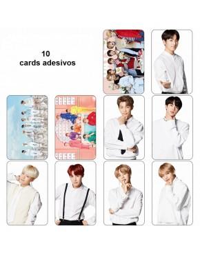 BTS Card Adesivo