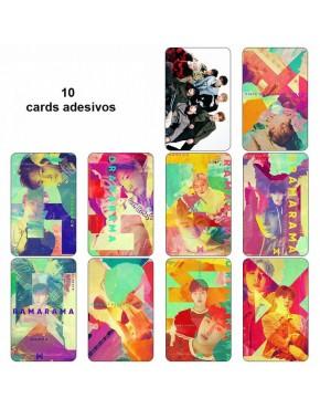 Monsta X Card Adesivo