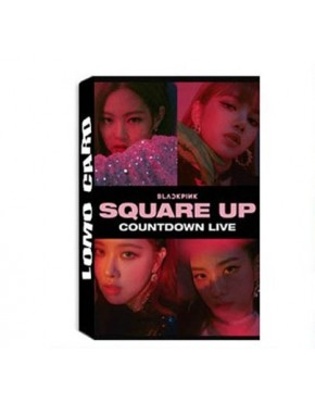 Blackpink Square UP Lomo Cards