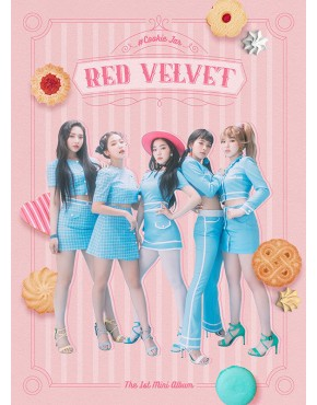 Red Velvet-  Cookie Jar - First Limited Edition CD