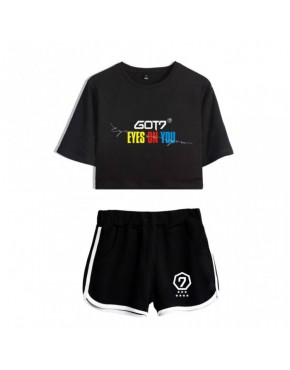 Conjunto GOT7 ( Shorts+Cropped)