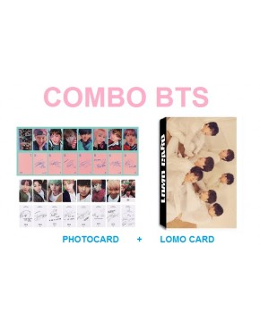 Combo BTS ( Photo+Lomo Cards)