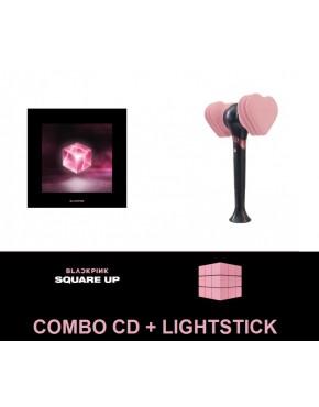 Combo Blackpink-  SQUARE UP CD + LIGHTSTICK