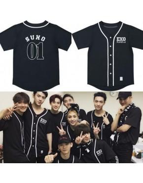 Camisa de Baseball Jersey EXO EXOPLANET