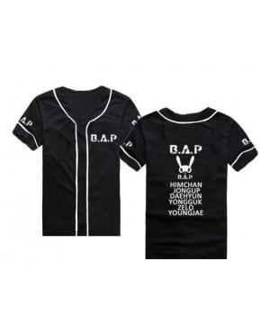 Camisa de Baseball Jersey B.A.P