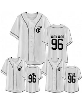 Camisa de Baseball Jersey Seventeen Membros