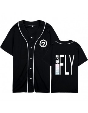 Camisa de Baseball Jersey GOT7 Fly