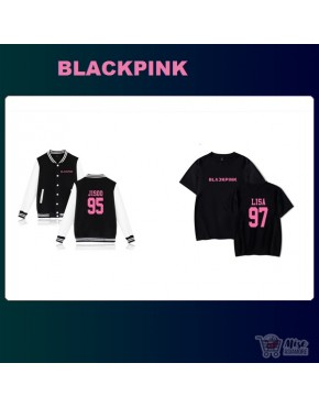 Kit Blackpink ( jaqueta+Camiseta)
