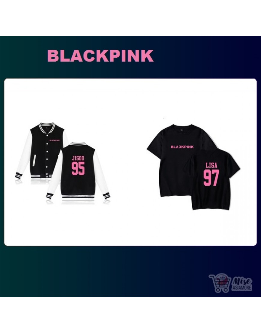 Kit Blackpink ( jaqueta+Camiseta) popup